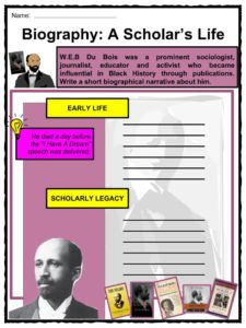 a biography of william edward burghardt du bois an american sociologist Web du bois : a biography and sociologist spent his life fighting for the rights of blacks everywhere # william edward burghardt du bois.