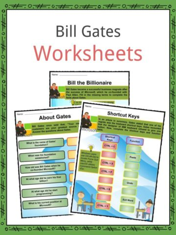 Bill Gates Worksheets