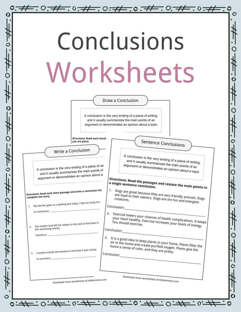 writing science conclusions worksheet by jacky teaching writing best free printable worksheets. Black Bedroom Furniture Sets. Home Design Ideas