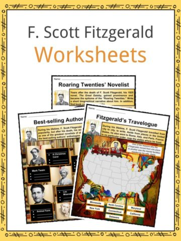 F. Scott Fitzgerald Worksheets