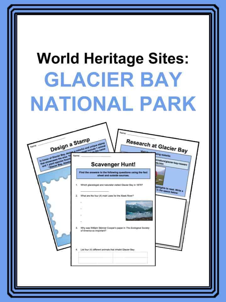 Glacier Bay National Park Worksheets