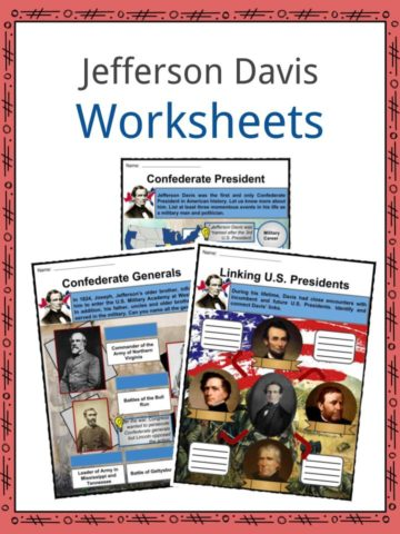 Jefferson Davis Worksheets