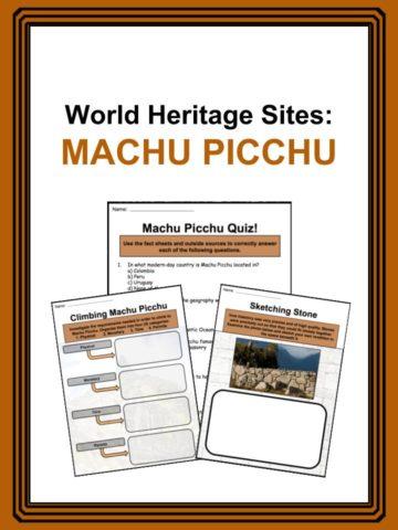 Machu Picchu Worksheets