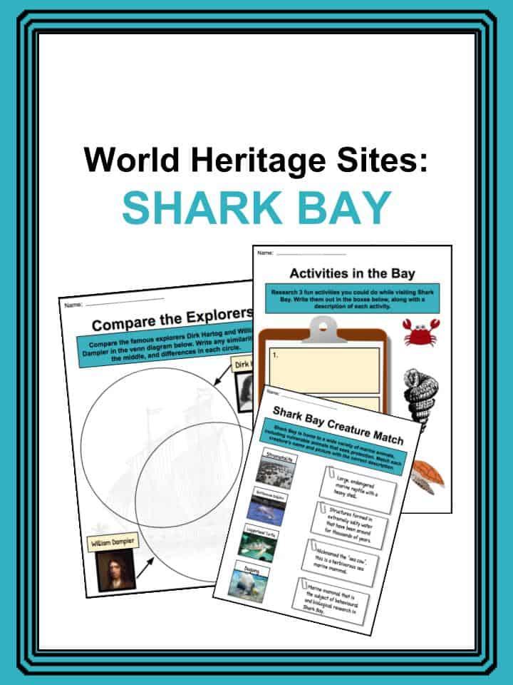 Shark Bay Worksheets