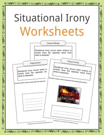 Situational Irony Worksheets