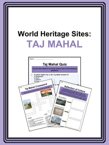Taj Mahal Worksheets
