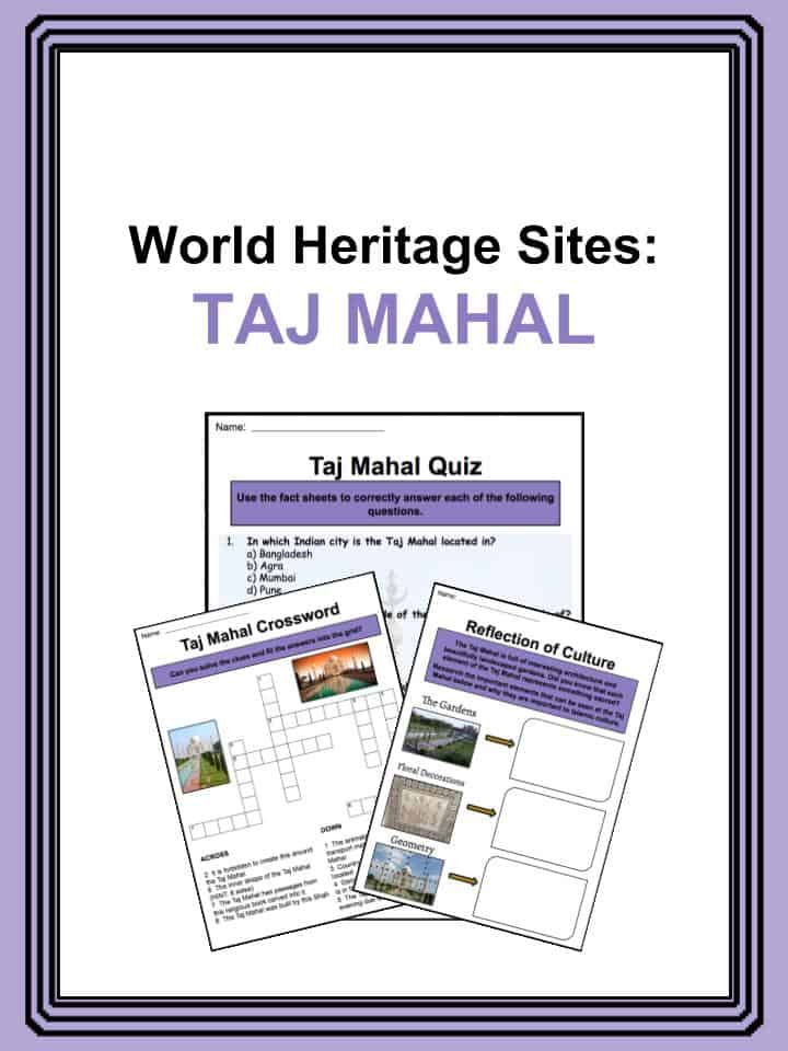 Taj Mahal Worksheets