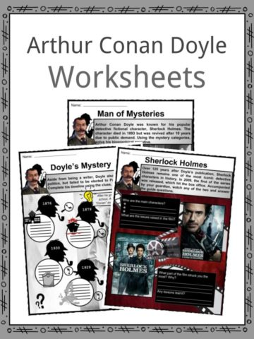 Arthur Conan Doyle Worksheets