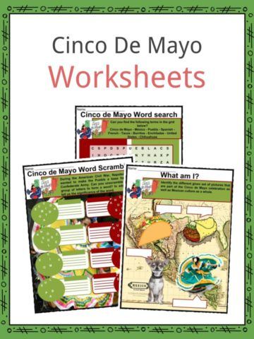Cinco de Mayo Worksheets