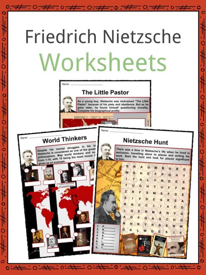 Friedrich Nietzsche Worksheets