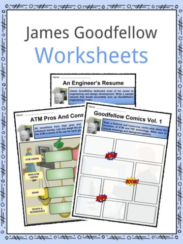 James Goodfellow Worksheets