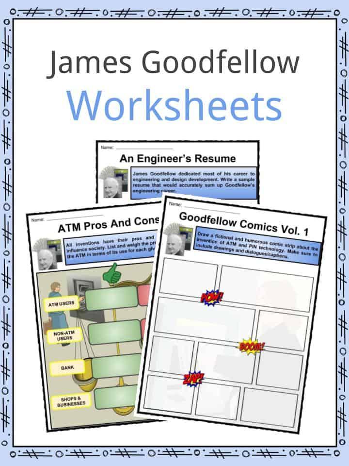 James Goodfellow Worksheets