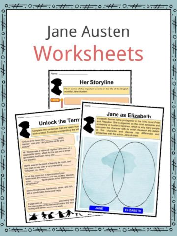 Jane Austen Worksheets