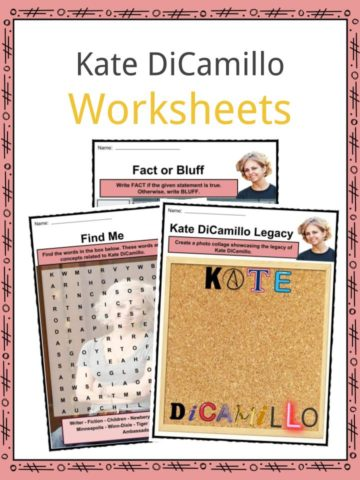 Kate DiCamillo Worksheets
