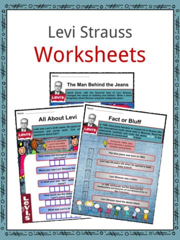 Levi Strauss Worksheets