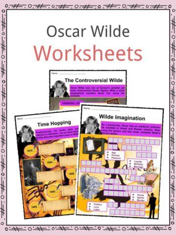 Oscar Wilde Worksheets