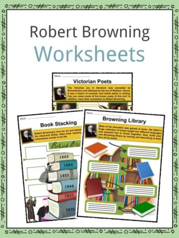 Robert Browning Worksheets