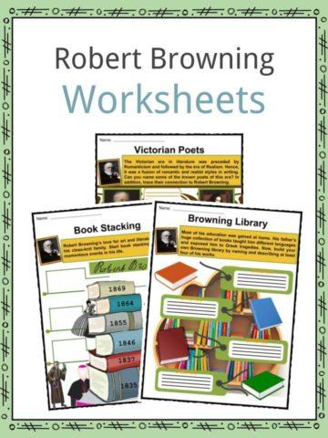 Robert Browning Worksheets