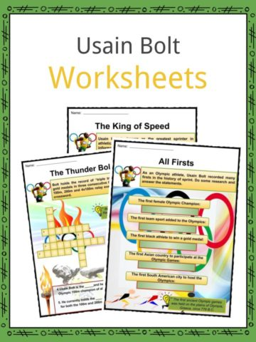 Usain Bolt Worksheets