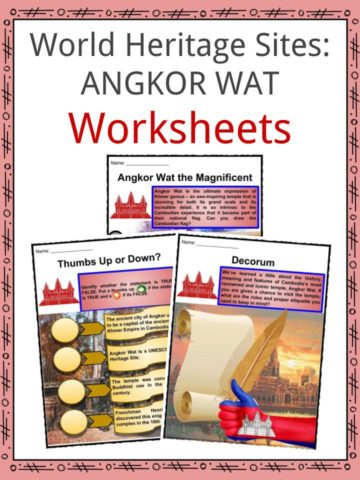 Angkor Wat Worksheets