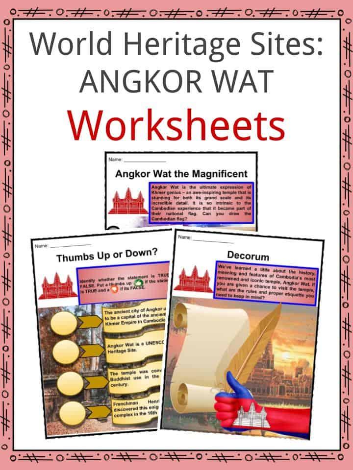 Angkor Wat Worksheets