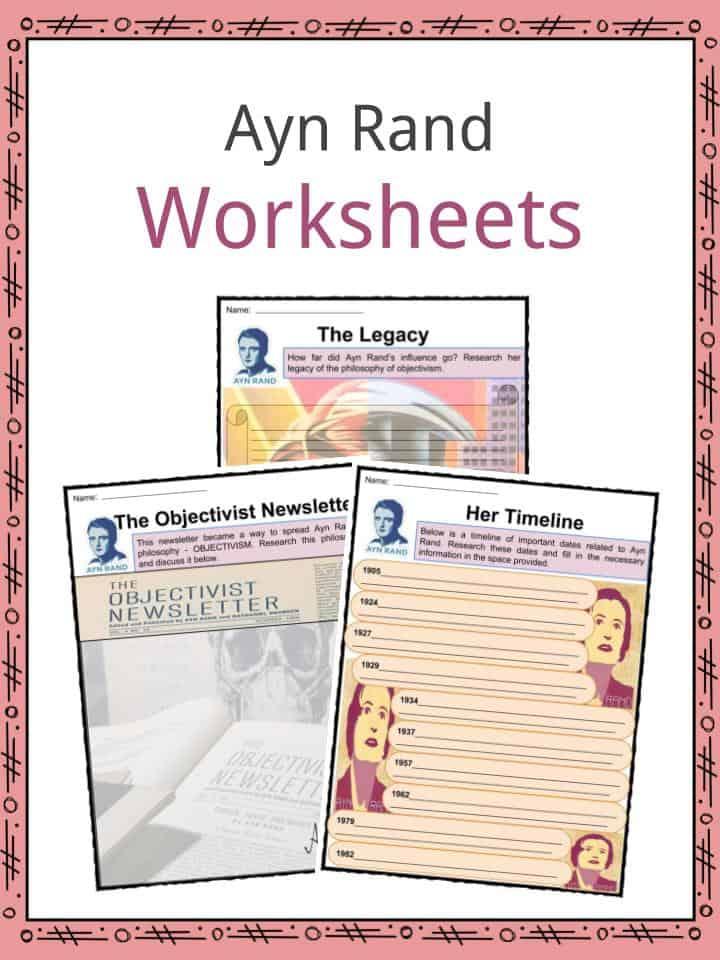 Ayn Rand Worksheets