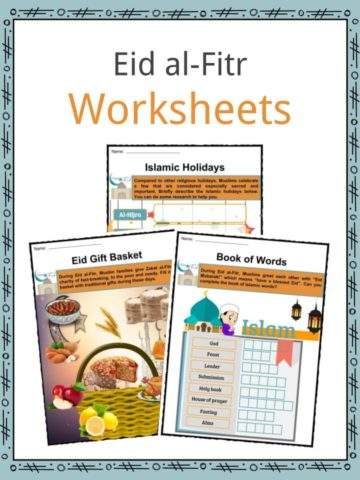 Eid al-Fitr Worksheets