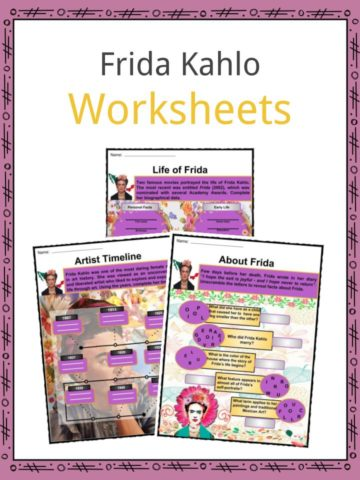 Frida Kahlo Worksheets