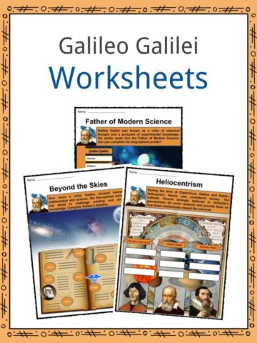 Galileo Galilei Worksheets