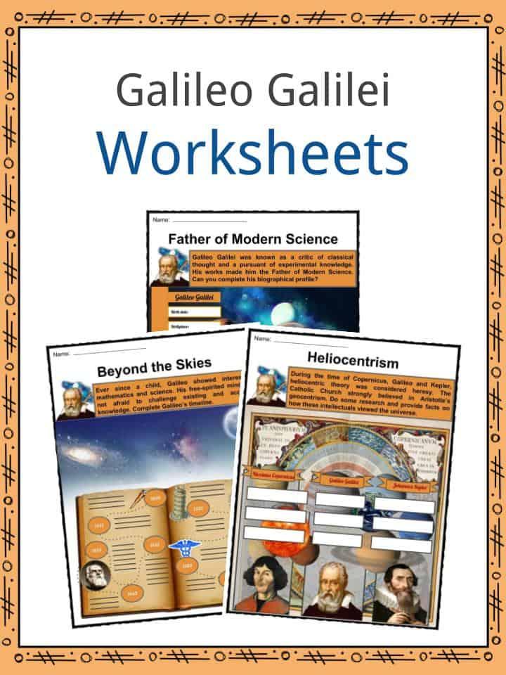 Galileo Galilei Worksheets
