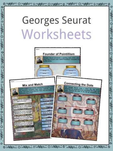 Georges Seurat Worksheets