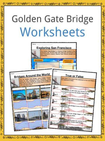 Golden Gate Bridge Worksheets