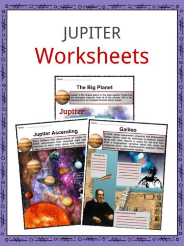 Jupiter Worksheets
