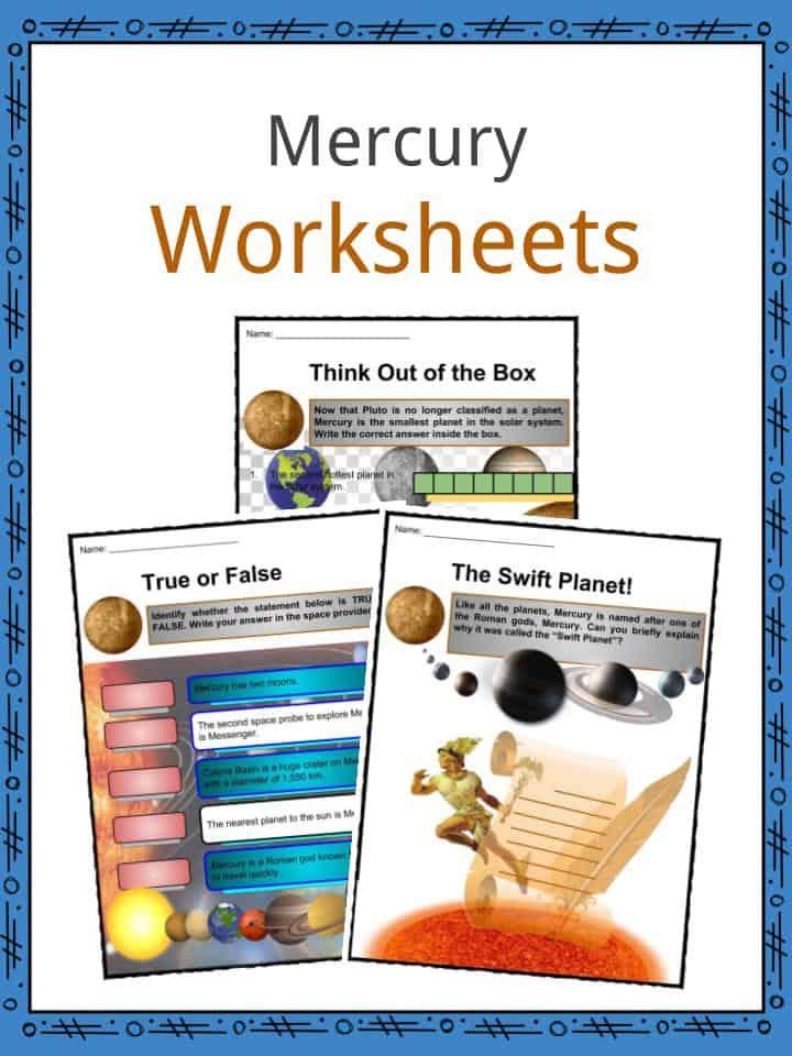 Mercury Worksheets