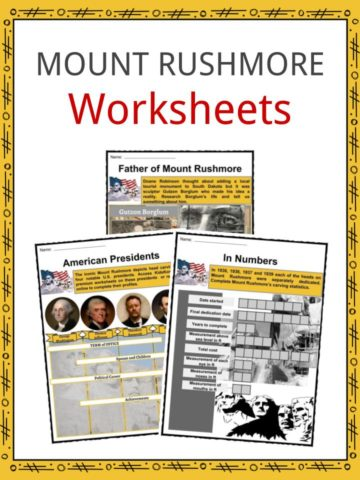 Mount Rushmore Worksheets