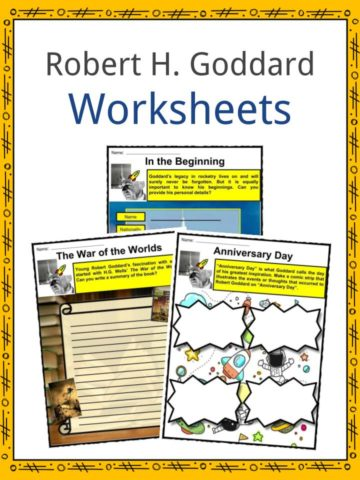 Robert H. Goddard Worksheets