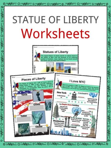 Statue of Liberty Worksheets