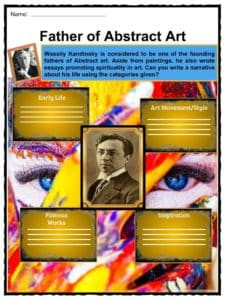 Wassily Kandinsky Facts, Worksheets, Paintings, Biography & Death