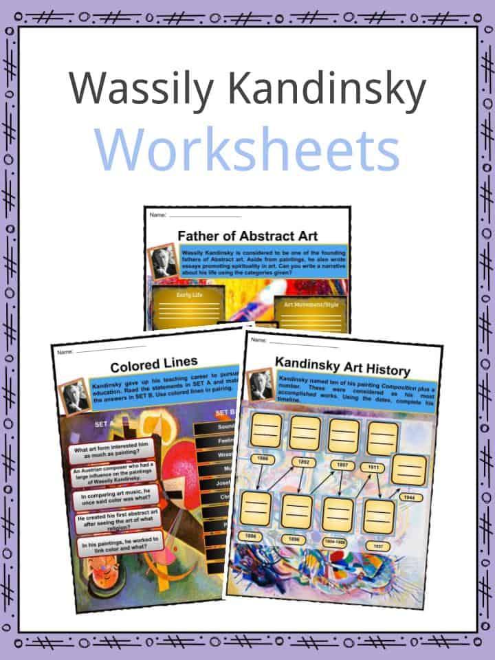 Wassily Kandinsky Worksheets