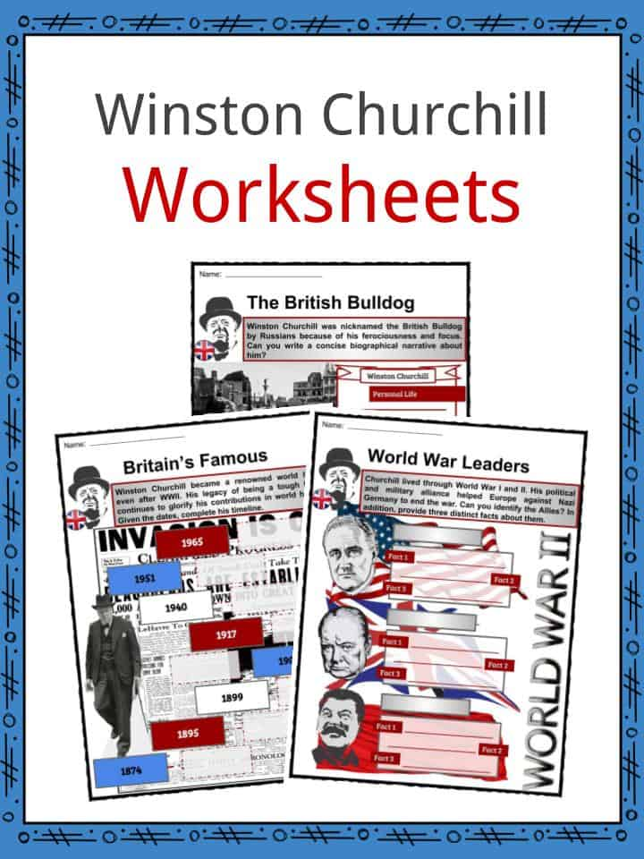 Winston Churchill Worksheets