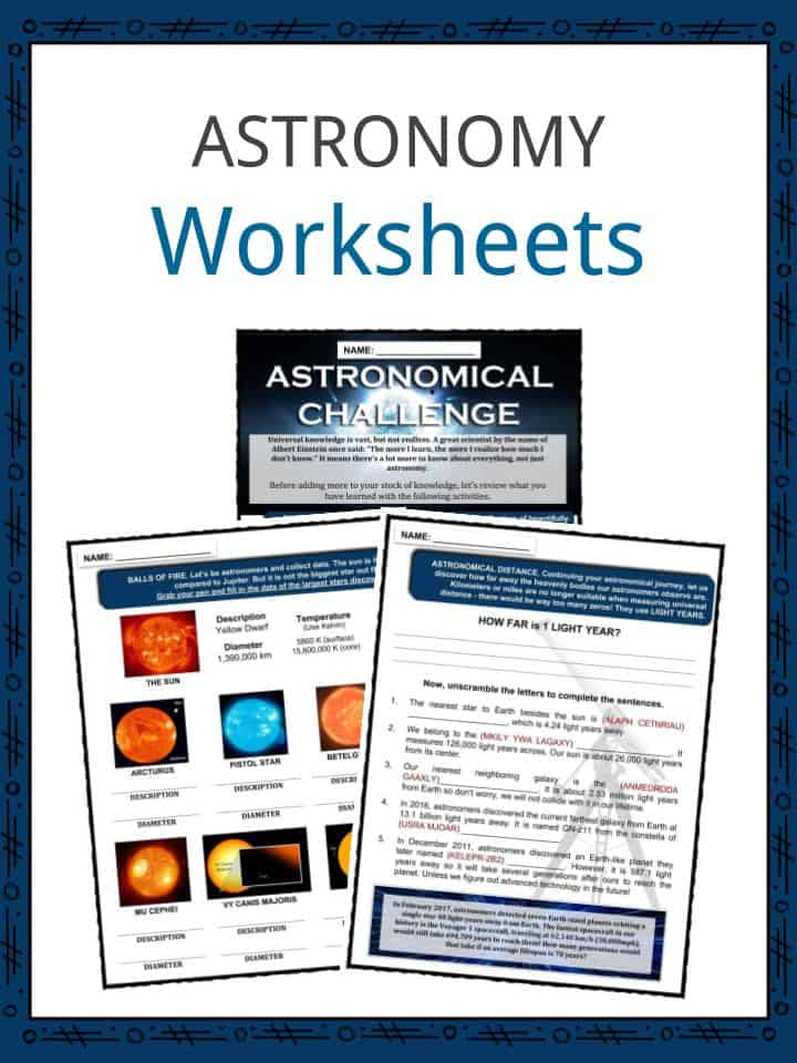 astronomy puns worksheets - 720×960