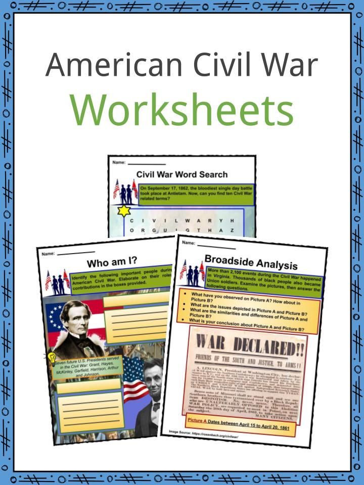 American Civil War Facts, Worksheets, History & Impact On ...