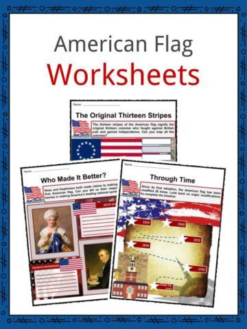American Flag Worksheets