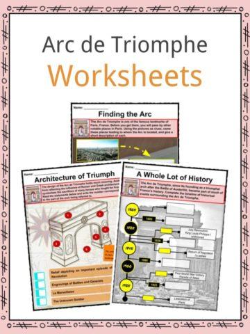 Arc De Triomphe Worksheet