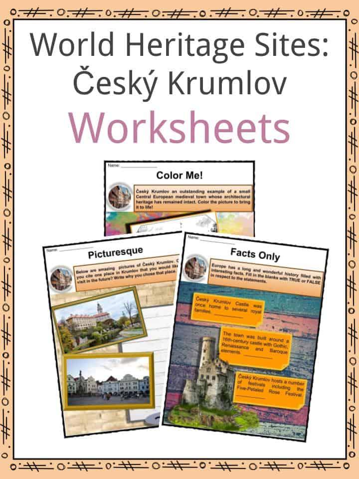 Cesky Krumlov Worksheets