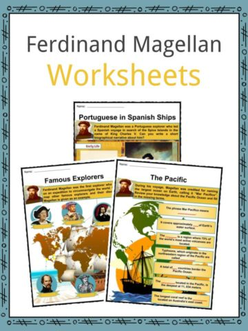 Famous Explorers & Writers Worksheets, Facts & Resources For Kids