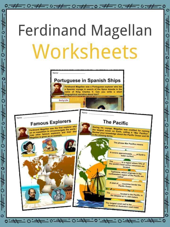 Ferdinand Magellan Worksheets