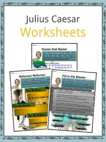 Julius Caesar Worksheets