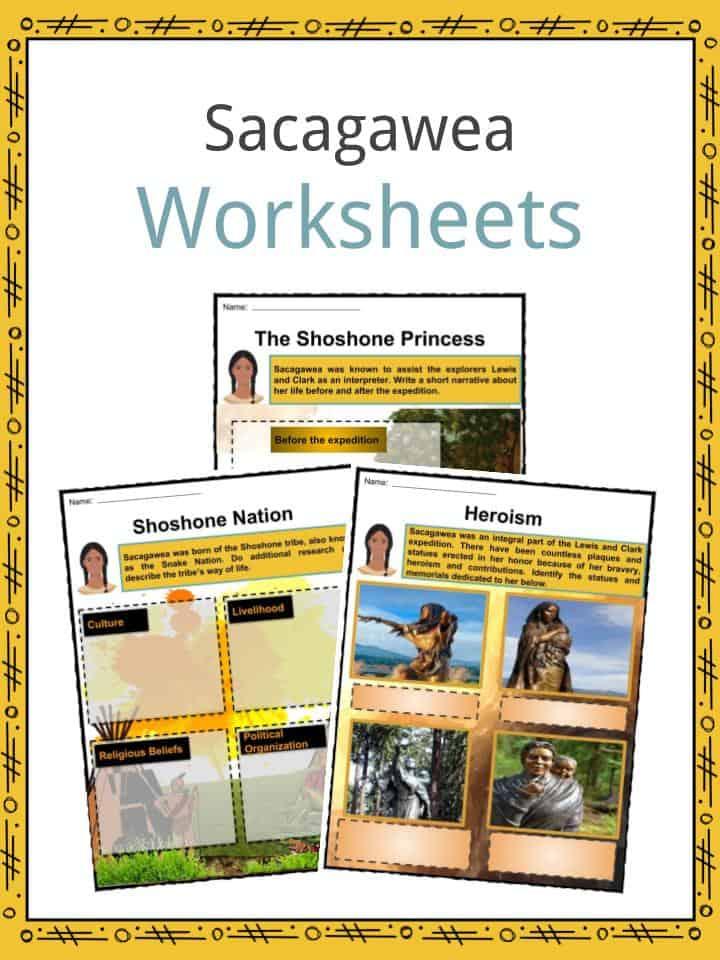 Sacagawea Worksheets