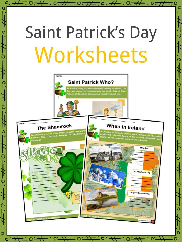 save off bbde3 02d46 Download the Saint Patrick s Day Facts   Worksheets